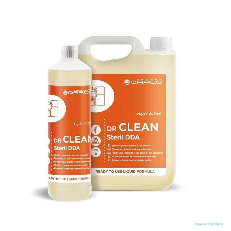 mycie i dezynfekcja powierzchni