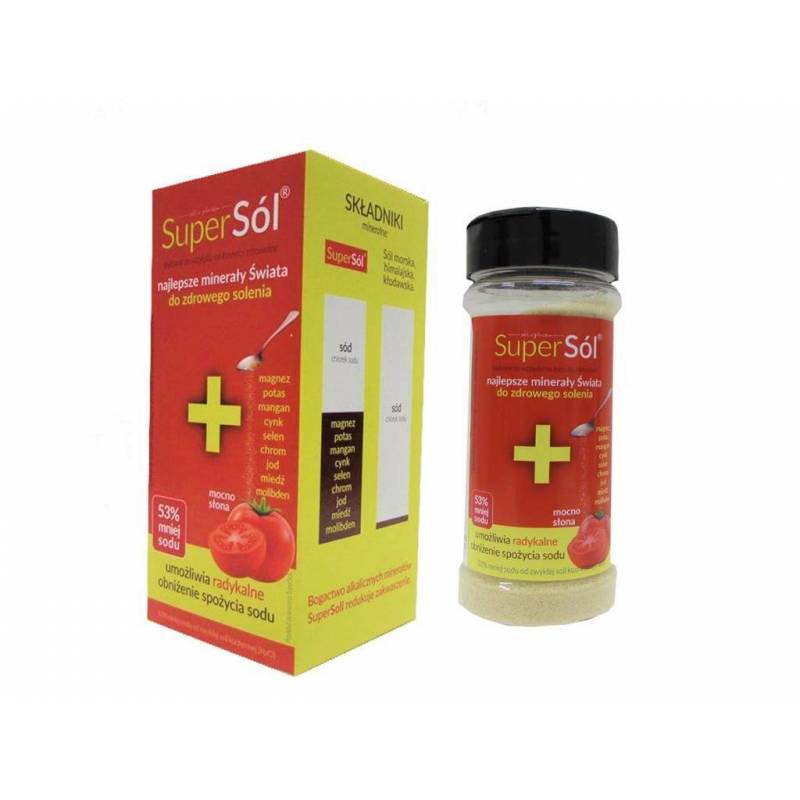 Super Sól 200 g solniczka + pudełko