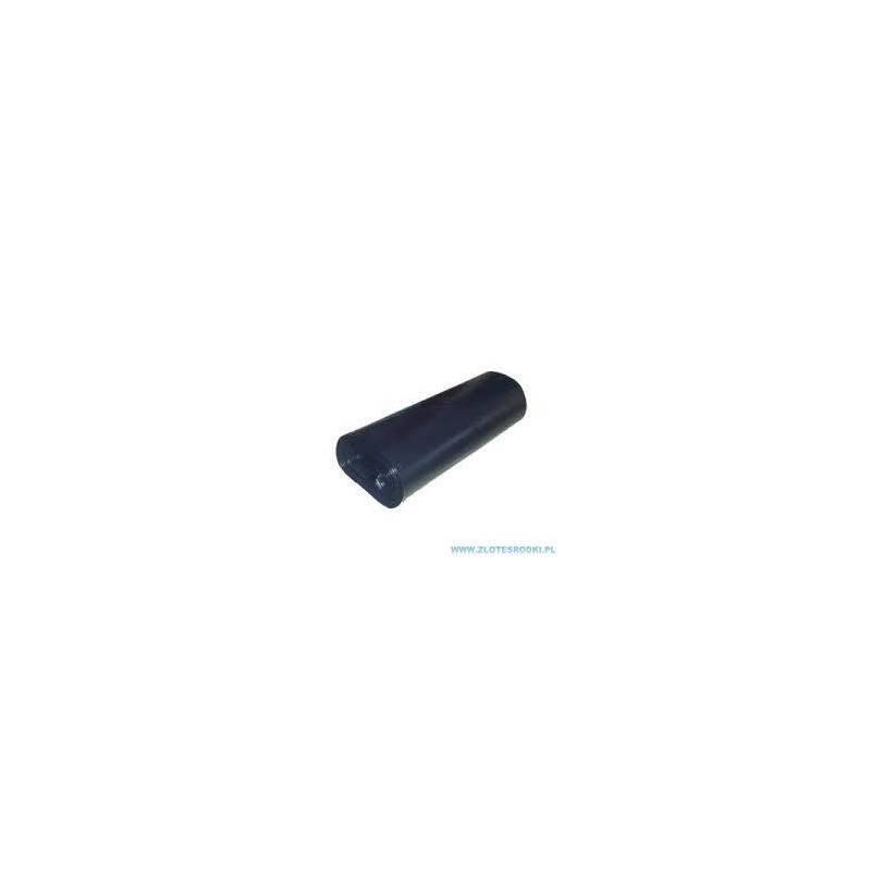 Worki foliowe LD+ 160 l  czarne, rolka - 10 szt.