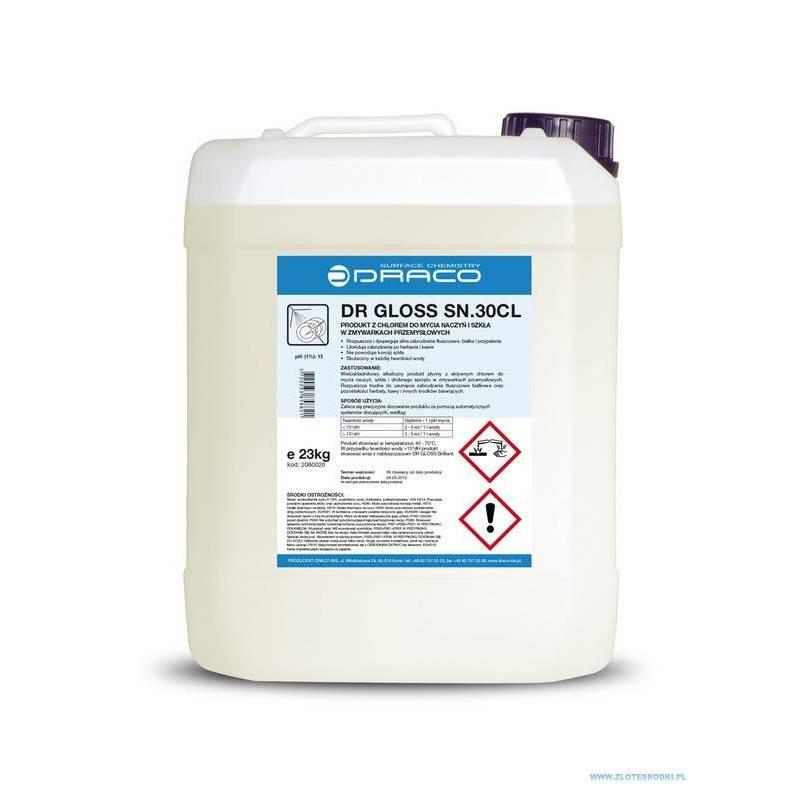 DR GLOSS SN.30 CL - 12 kg - Płyn do zmywarek przemysłowych